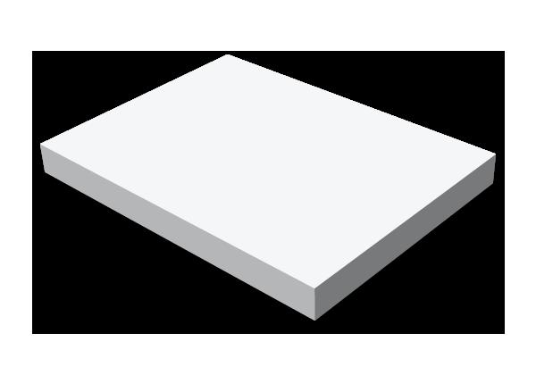 Självhäftande block, 100x75mm, stor bild