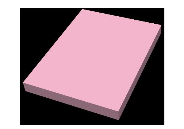 Självhäftande block, 75x100mm Färg, stor bild