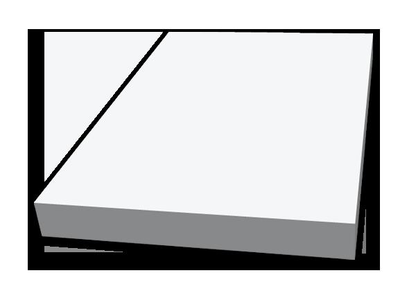 Självhäftande block, 100x150mm, stor bild