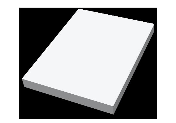 Självhäftande block, 75x100mm, stor bild