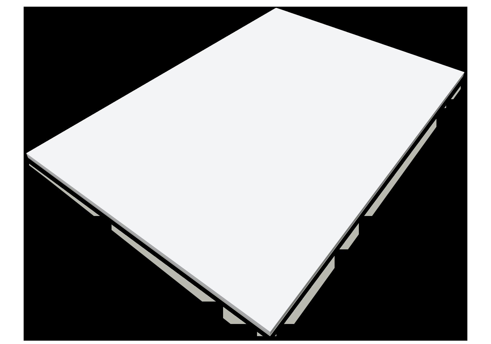 Självhäftande block, A4 Konferensblock CMYK, stor bild