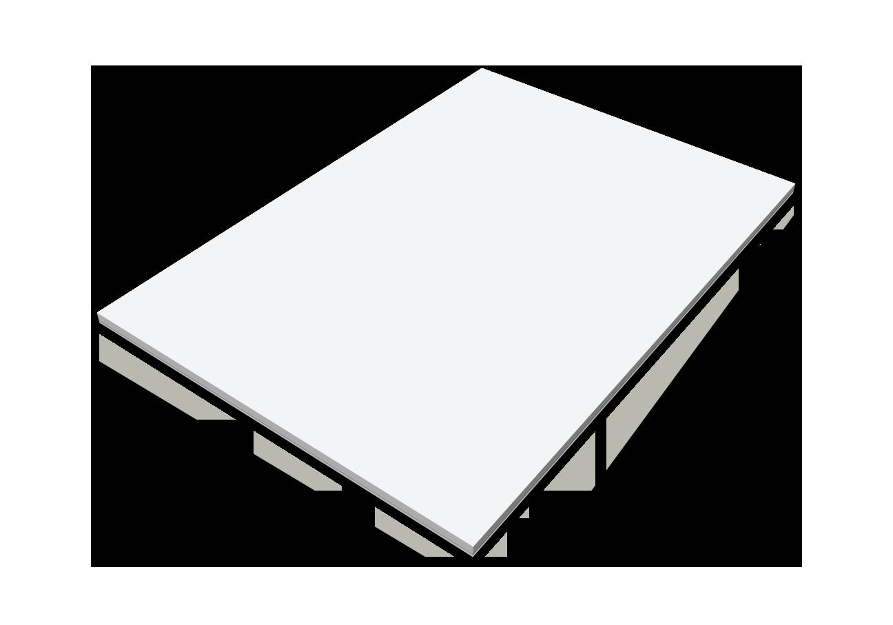 Självhäftande block, A5 anteckningsblock CMYK, stor bild