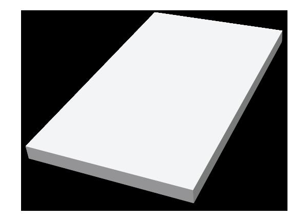 Självhäftande block, Kyparblock CMYK, stor bild